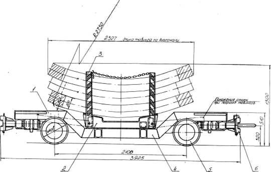 вагонетка для тюбингов