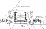 Вагонетка для перевозки тюбингов ВТ-3