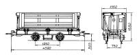 Вагонетка шахтная ВБ 4,0(у)-750