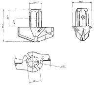 Коронка буровая 110 мм