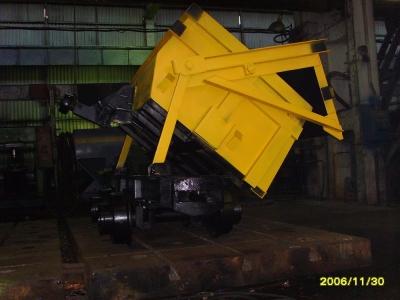 Вагонетка шахтная ВБ 4,0 (К) -750