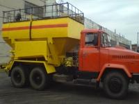 Машина зарядная МЗ-3Б с дополнительной системой заряжания гранулитом «Э»