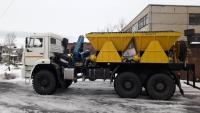 Машина забоечная ЗС-2М с грейфером и установкой для осушения скважин