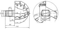 Коронка буровая КР 160-3
