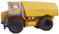 Машина для доставки эмульсии (машина БелАЗ-7648А)